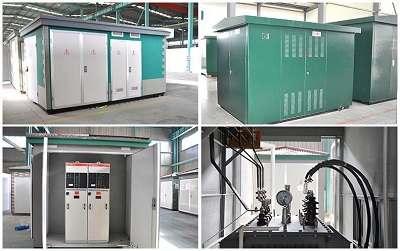 YB-12型箱式变电站